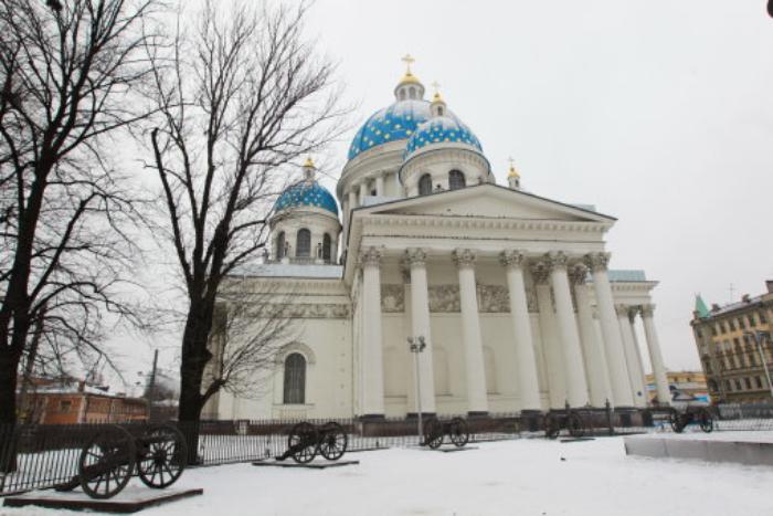 ВПетербурге завершена 21-летняя реставрация Троицкого храма