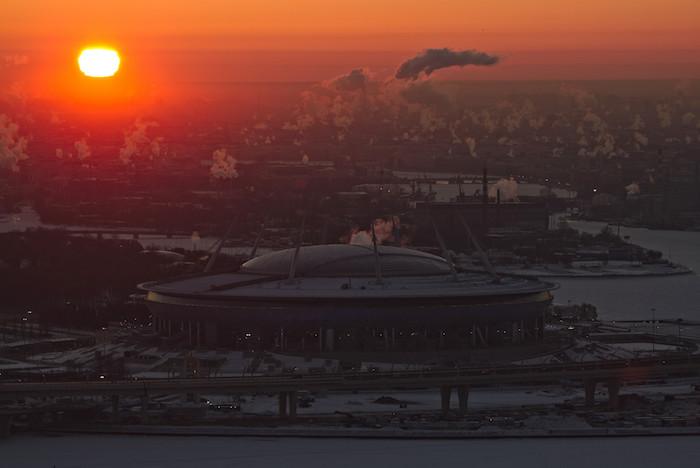14 захватывающих видов Петербурга сбашни «Лахта-центра»