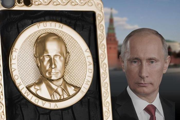 От золотых айфонов за 200 тысяч доскатерти с Путиным. Какроссийские компании зарабатывают на патриотизме