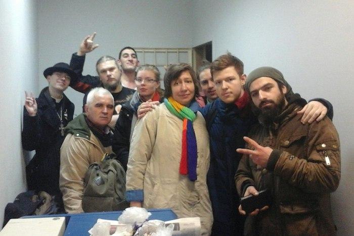 Стало известно, сколько людей задержали в Петербурге. В отделах полиции — 131 человек