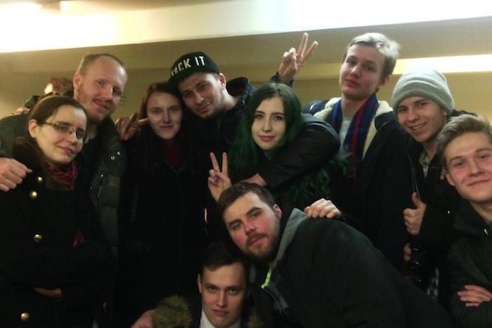 Как чеченец Артур вступился зашкольника Ваню перед петербургским ОМОНом. Случай наакции протеста 26 марта