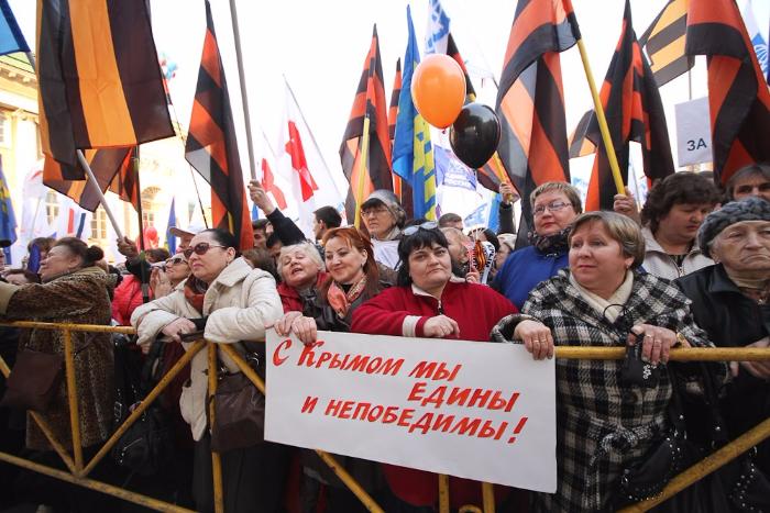 Присоединение Крыма опередило освоение космоса и литературу в рейтинге гордости россиян