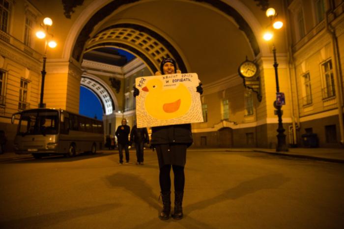 Смольный не согласовал митинг за отставку Медведева. Вместо него пройдет акция НОД