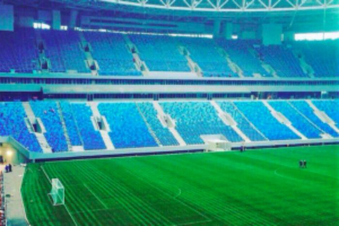 На стадионе «Санкт-Петербург» снесут вип-ложи, пишет «Фонтанка»