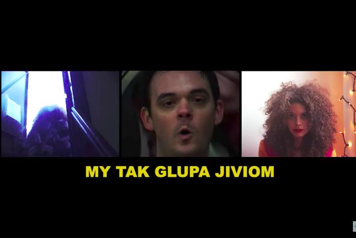 В новом клипе СБПЧ спели жители Нью-Йорка. На русском языке