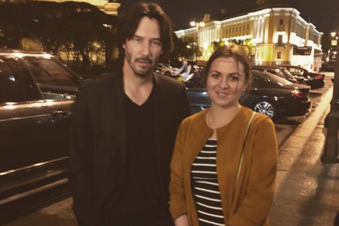 «Я восхищаюсь этим простым человеком»: как в Петербурге встречали Киану Ривза ❤️