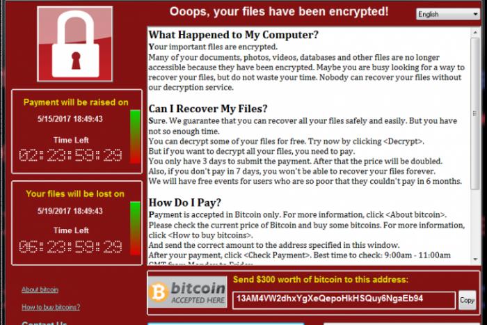 Как защититься от вымогающего деньги вируса WCry и что делать, еслион поразил компьютер?