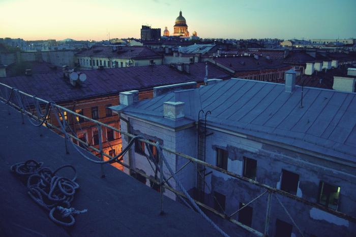 Восемь безопасных и легальных крыш Петербурга