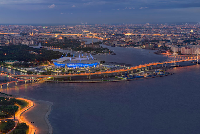 Рассмотрите Петербург с высоты 300 метров. Гигапиксельная панорама «Бумаги»