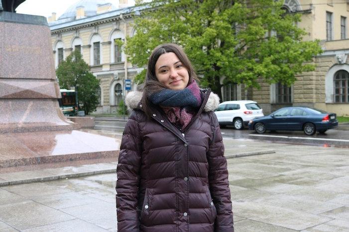 Боснийка Ваня Давидович — об иван-чае, петербургских общежитиях инебе, которое нечасто видно