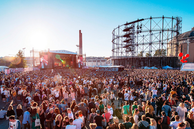Как Хельсинки использует Flow идругие масштабные события, чтобы изменить имидж города