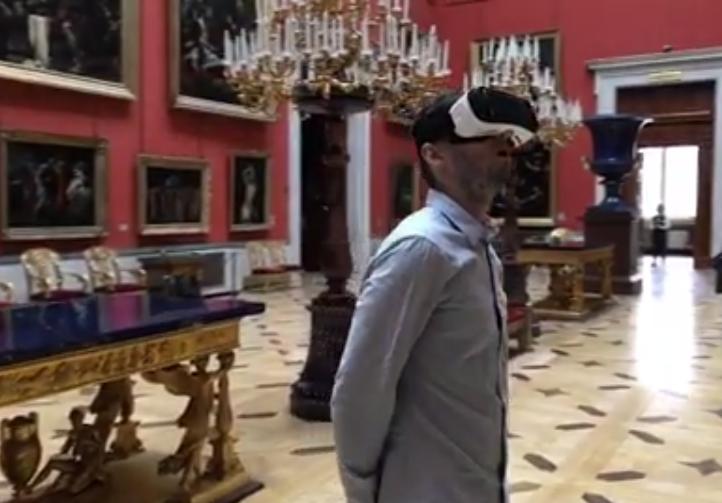В Эрмитаже будут показывать фильм в формате виртуальной реальности. В главной роли — Хабенский