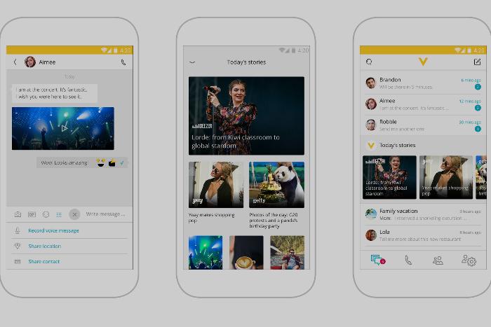«Билайн» запустил платформу Veon для общения, обмена фотографиями и управления тарифом