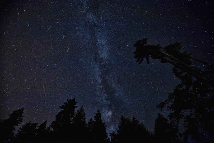 В ночь на воскресенье в Северном полушарии можно будет увидеть звездопад Персеиды