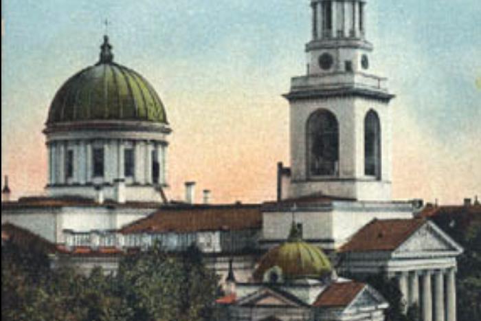 В Кронштадте восстановят Андреевский собор, снесенный в 30-е годы