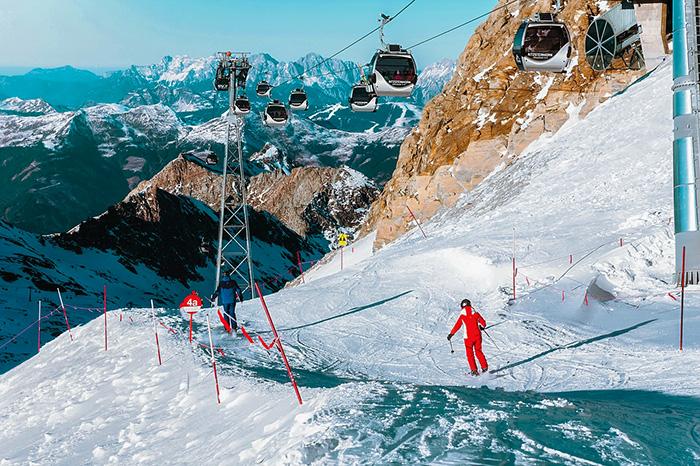 Как петербуржцы катаются вАвстрии на лыжах исноуборде и чем еще заняться в Альпах