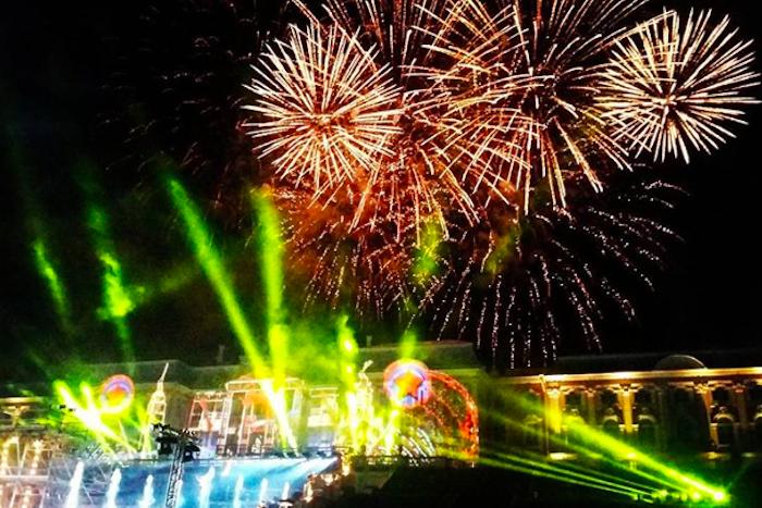 Как прошел праздник закрытия фонтанов в Петергофе. Фото и видео
