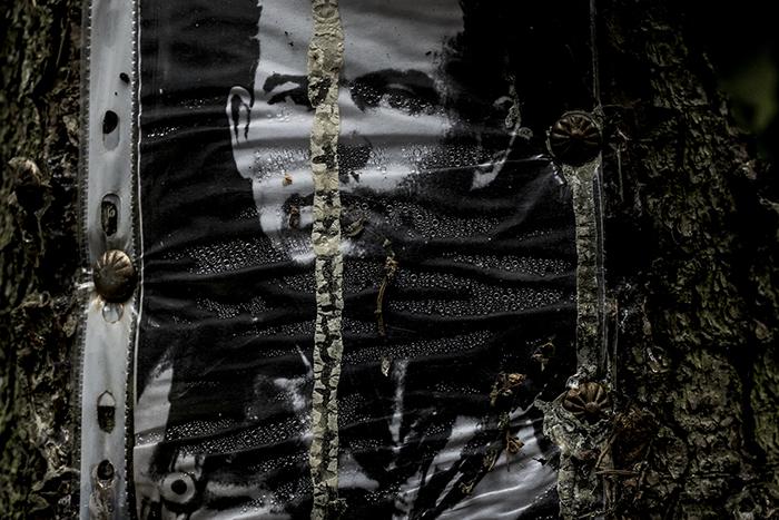 Левашовский некрополь. Стихийные памятники и лица петербуржцев, расстрелянных в годы репрессий