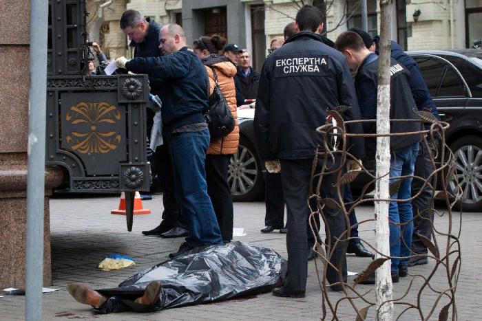 Генпрокурор Украины назвал заказчиком убийства Вороненкова бывшего мужа Максаковой