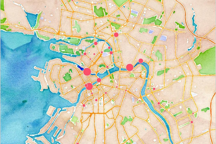 Тучков и Вознесенский мосты и набережные Невы: «Велосипедизация» составила карты велотрафика в Петербурге