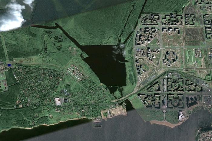 Как застраивали парки Петербурга с 2001 года: 9 карт-гифок Малиновки, Парнаса и других зеленых зон города