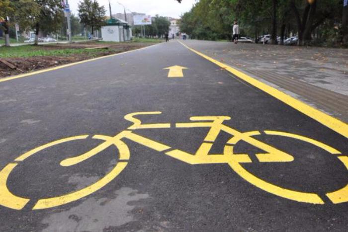 На Большом проспекте Васильевского острова появится велодорожка. Ее обустройство обойдется в 5 млн рублей