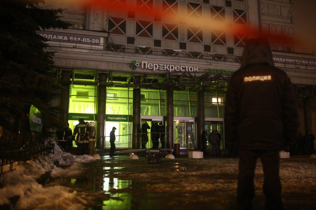 Петербургский «Перекресток» после взрыва. Одна фотография
