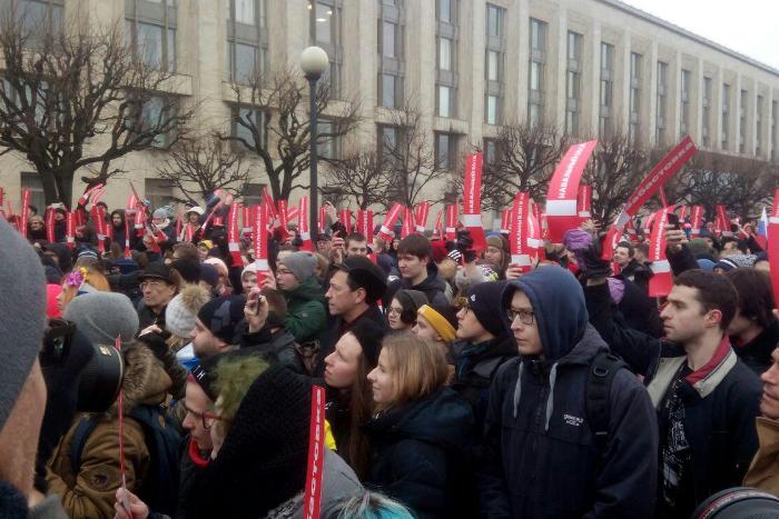 Как прошла «Забастовка избирателей» Навального вПетербурге. Онлайн