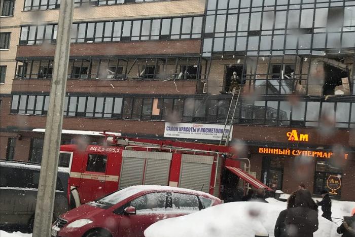 В Приморском районе произошел взрыв в жилом доме. Подробности происшествия