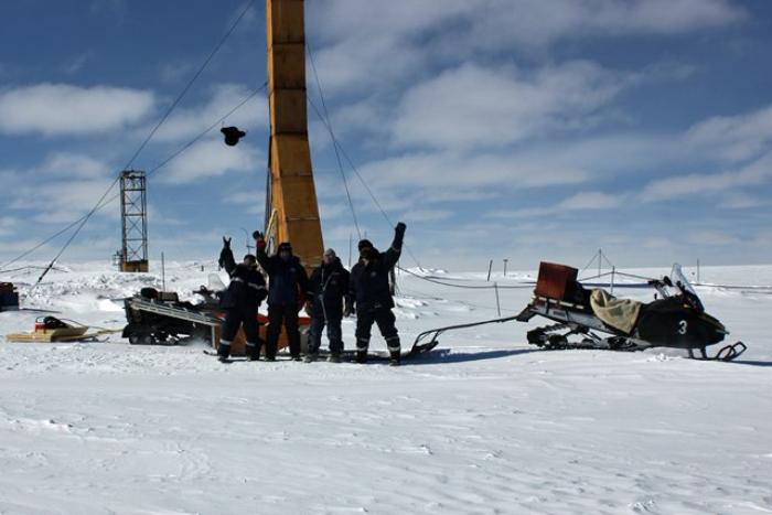 Петербургские ученые нашли в Антарктиде древнейший лед на планете