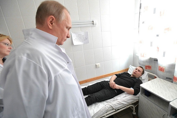 Путин назвал причиной трагедии в Кемерове «преступную халатность и разгильдяйство» и пообещал наказать виновных