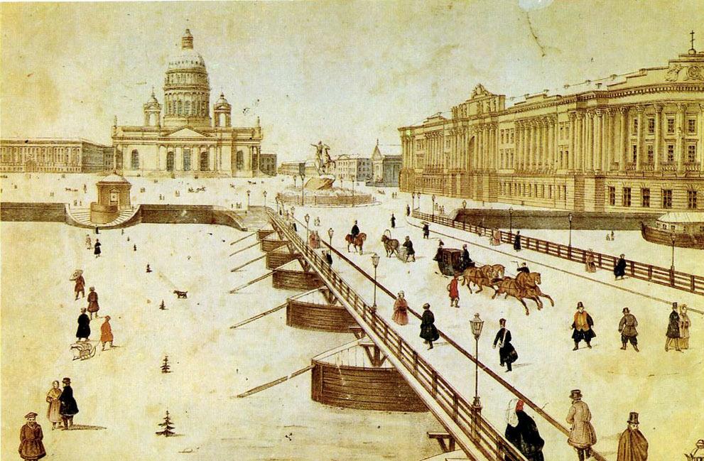 Почему Петр I был против мостов и как по льду Невы ездил трамвай: экскурсовод рассказывает о роли льда в истории Петербурга
