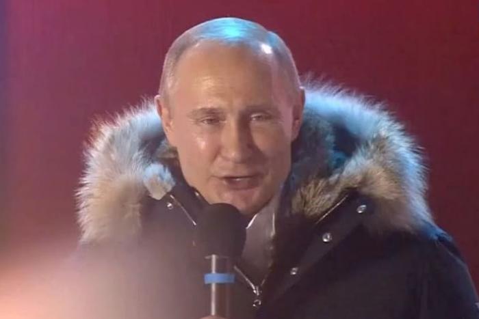 Путин набрал больше 76 % голосов. Явка превысила 67 %