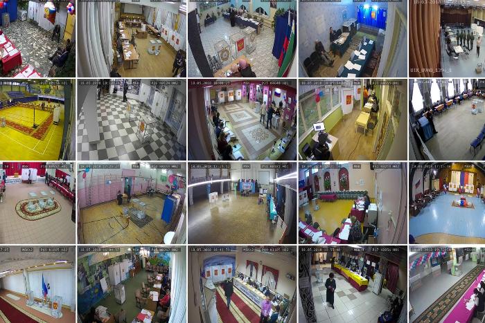 Розовые скатерти и красные ковры: как выглядели избирательные участки 18 марта