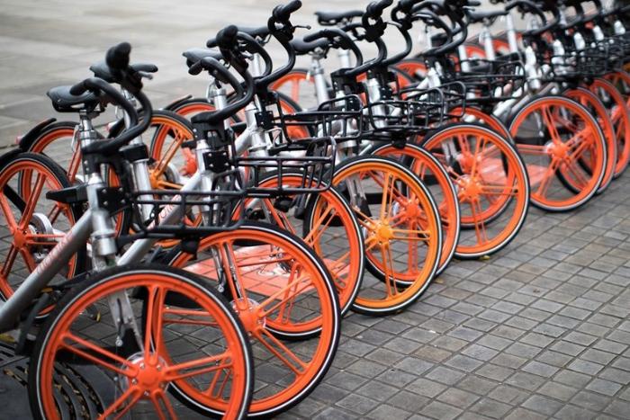 В Петербурге планируют запустить китайский велопрокат, работающий по новой модели