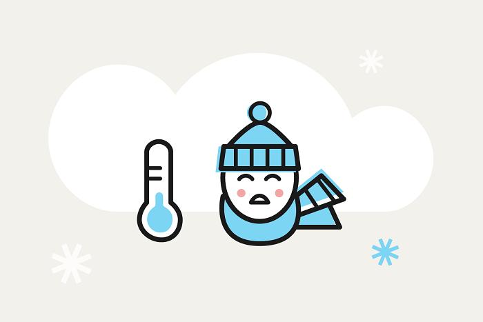 Какой день был самым холодным исколько выпало снега: итоги петербургской зимы — винфографике