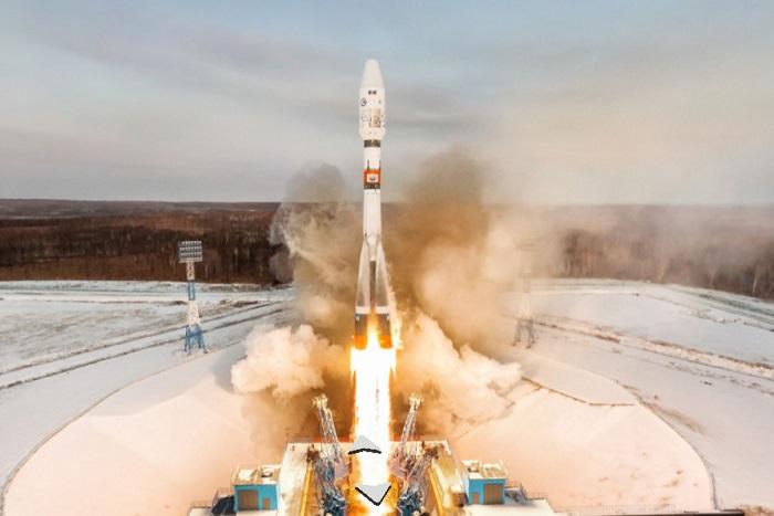 «Яндекс» опубликовал панорамы космодрома «Восточный». Там можно посмотреть на ракету в момент запуска
