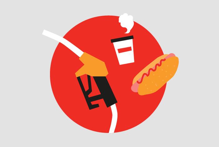 «Я часто ем на заправках»: петербуржцы рассказывают, за что любят хот-доги и кофе на АЗС