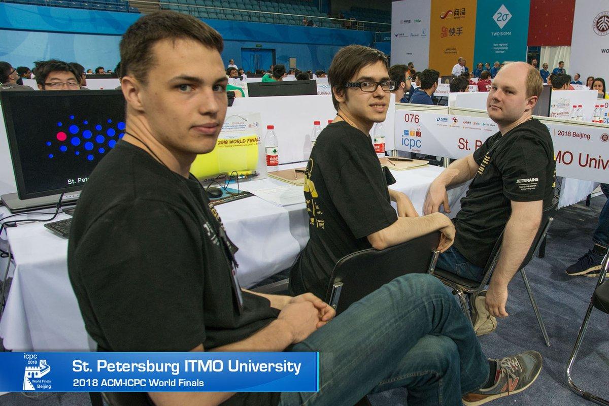 Российские студенты победили на чемпионате мира по программированию. Команда ИТМО заняла третье место