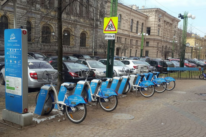 Петербургский велопрокат рассказал о срыве тестирования станций из-за блокировок Роскомнадзора
