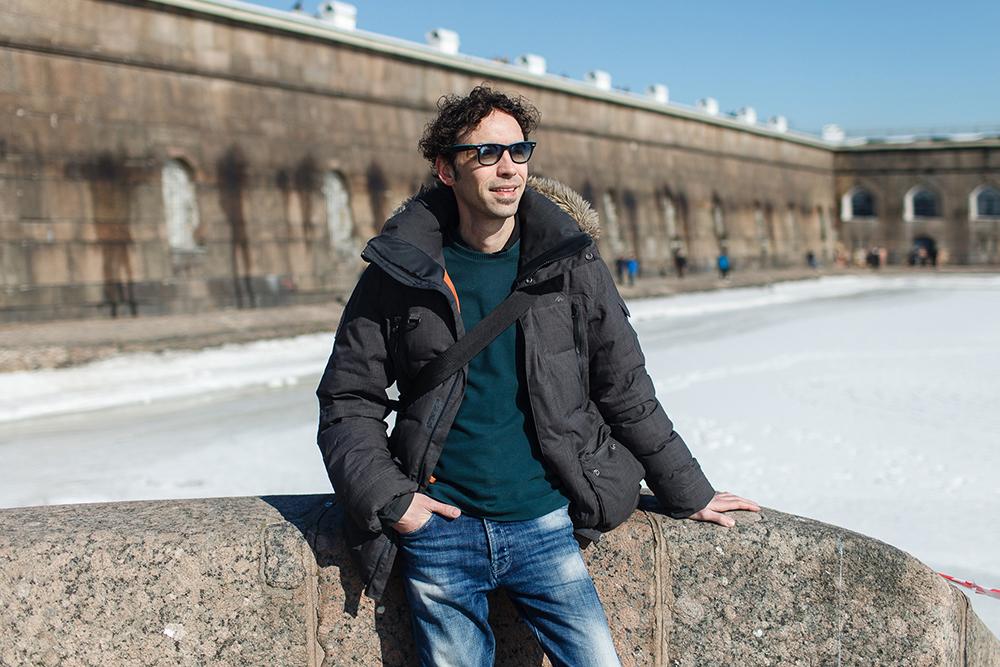 Итальянец Франческо Бельведере — о прогулках в мороз, архитектуре городских окраин и темной зиме в Петербурге