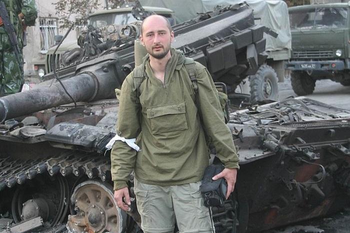 Аркадий Бабченко согласился стать гражданином Украины