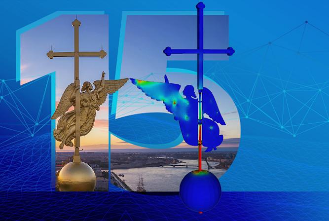 Как инженеры Политеха создали цифровую копию ангела на шпиле Петропавловского собора