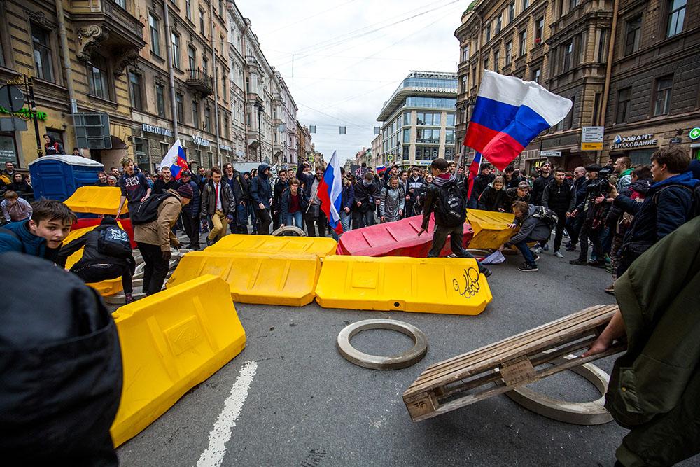Россия для грустных: протесты в России 5 мая 2018, задержания в Москве,
