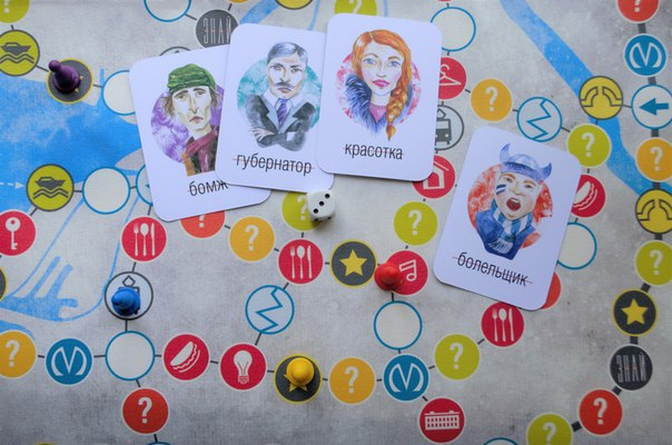 Карты с петербургскими депутатами, гид по городским барам и приключения корюшки. Восемь настольных игр о Петербурге