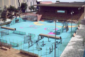 Каким должен быть удобный двор для жителей многоэтажного дома? Беседки для барбекю, спортивные площадки и сцена