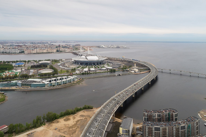 Как Петербург изменился перед чемпионатом мира: новые станции метро, мосты и стадион. Восемь видов