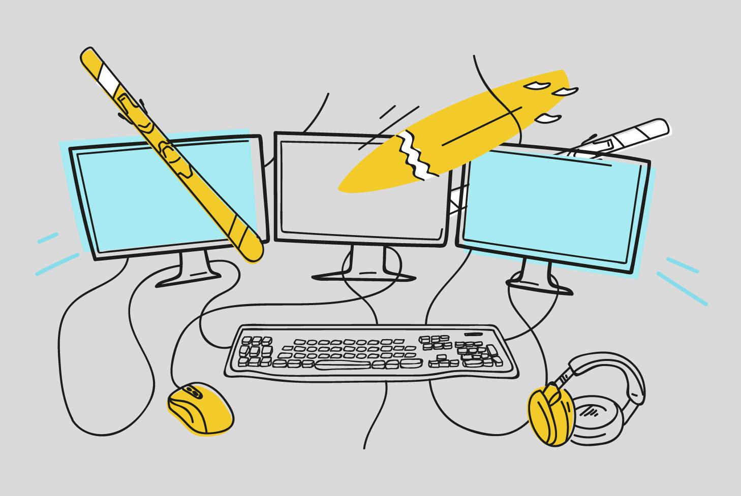 Как школьник, студент и офисный работник стали киберспортсменами и зарабатывают, играя в видеоигры. Четыре истории