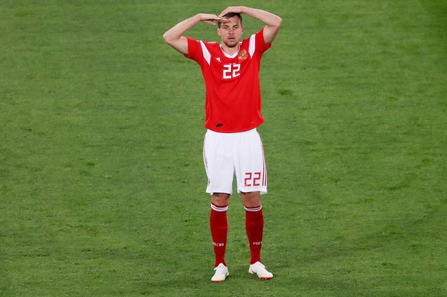 Дзюба обогнал Месси в списке 50 лучших футболистов ЧМ-2018 по версии Sky Sports