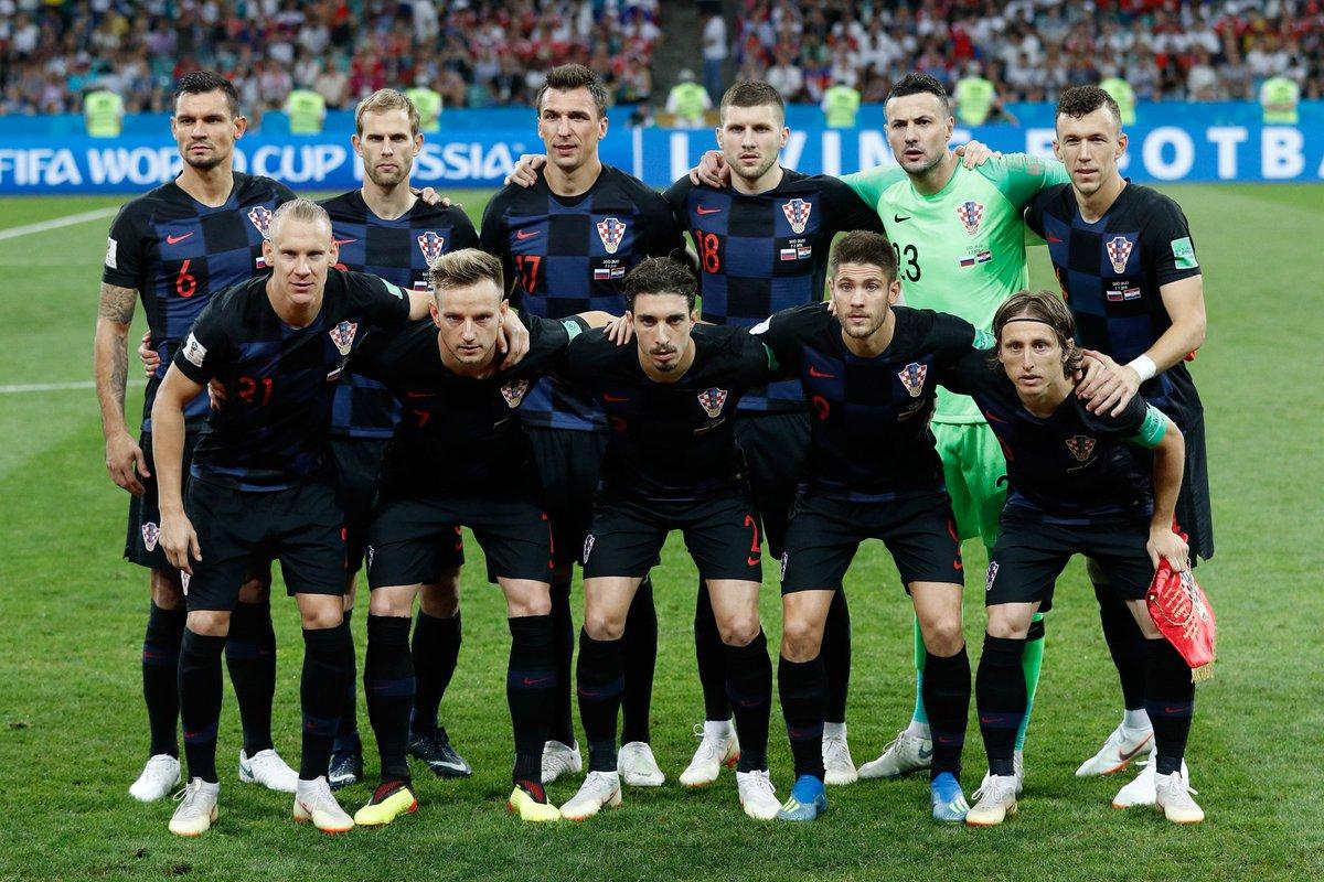 В финале чемпионата мира в России сыграют сборные Франции и Хорватии
